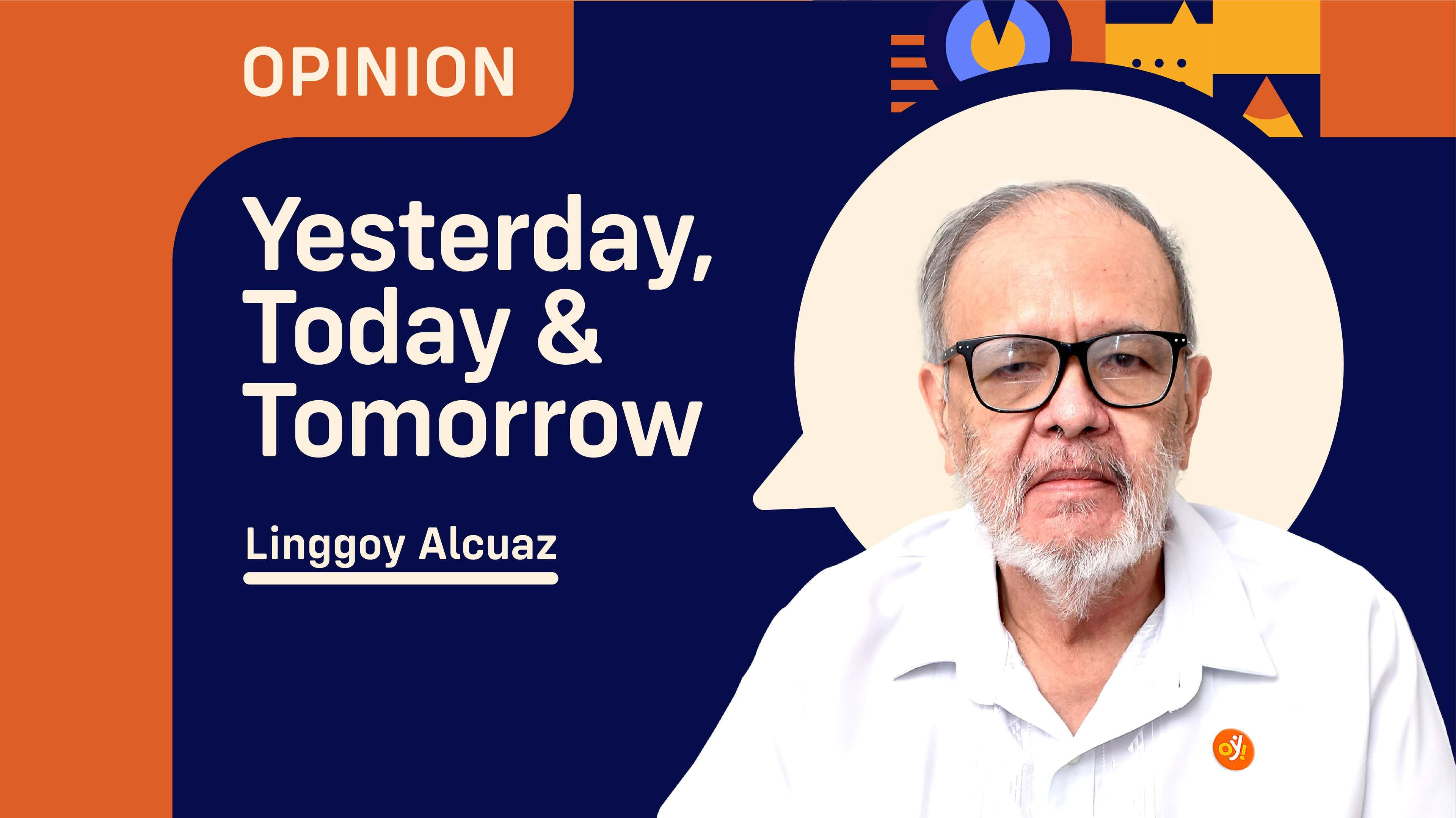 Yesterday, Today & Tomorrow by Linggoy Alcuaz
