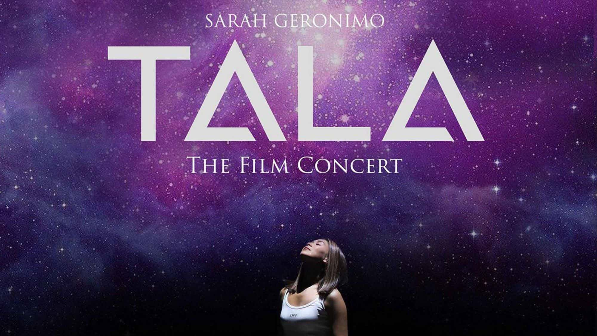 "Sarah Geronimo's ""Tala"" digital concert adds two more screening dates"